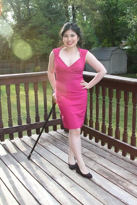 I'm wearing Pinup Girl's Erin Wiggle Dress!