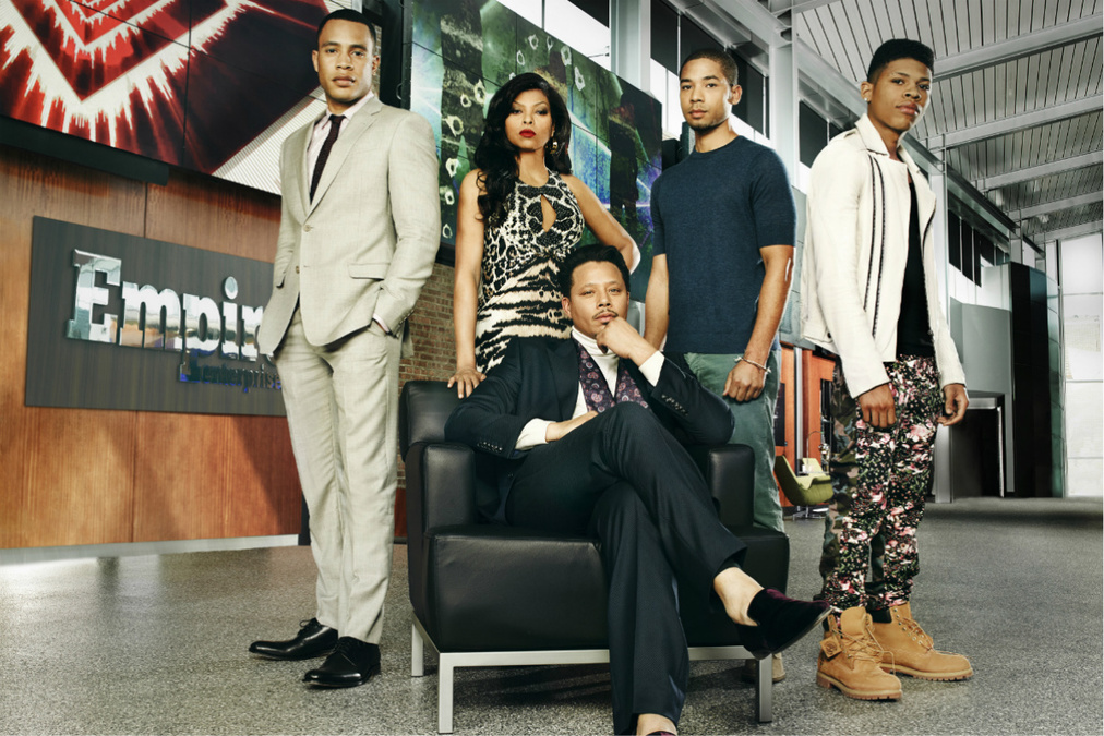 Empire's Andre (far left) has Bipolar Disorder