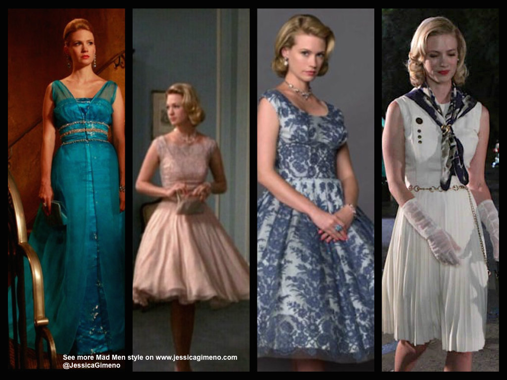 Some Of Betty Draper S Best Looks