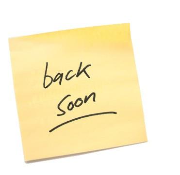 #HAWMC; I'll Be Back Soon