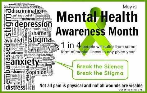 May = Mental Health Awareness Month