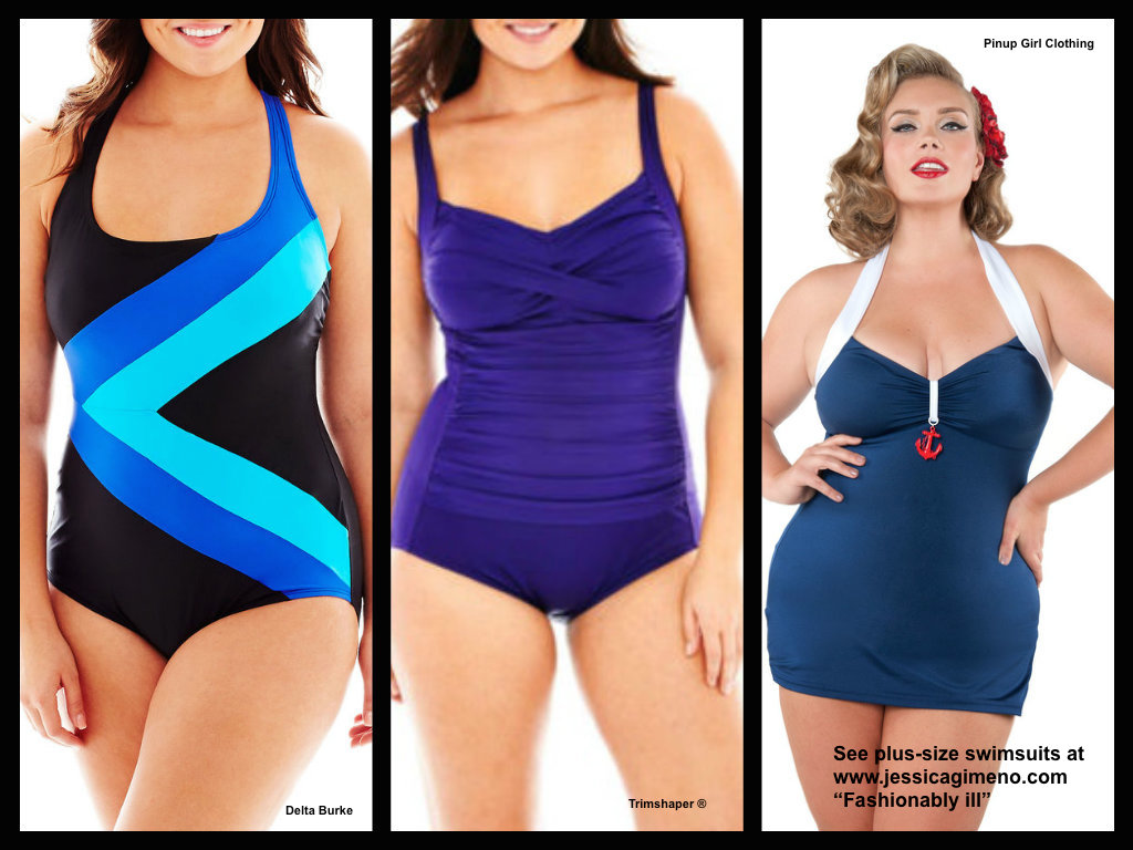 38e570cd9e How to Shop for Plus-Size Swimsuits & 6 Flattering Suits ...