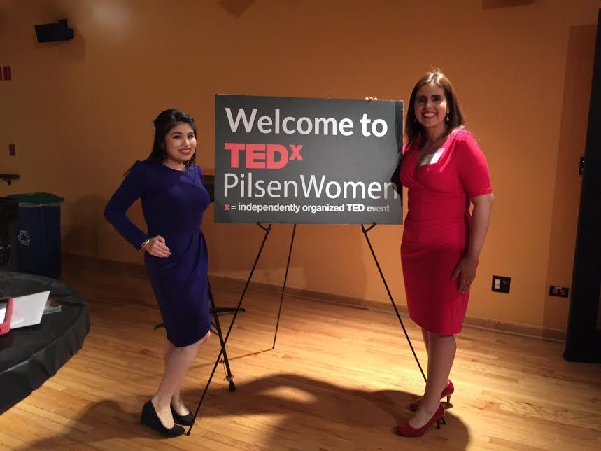 Tanya Flores, Co-Organizer of #TEDxPilsenWomen