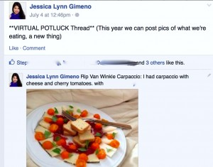 Twilight Zone Virtual Potluck