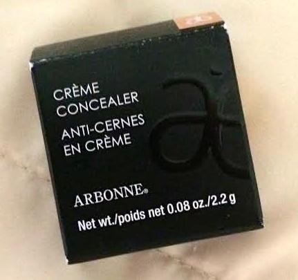 Arbonne Crème Concealer Net wt. .08 oz