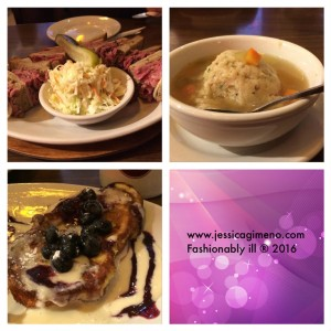 Yummy! Matzo Ball Soup + Challah French Toast