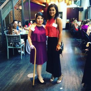 With My Friend, Shilpi, at Simply Stylist Chicago