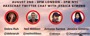 Check out #AXSchat every Tuesday on Twitter!