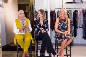 (L to R): Ibtihaj Muhammed, Cady Vaccaro, Chelsea Herron